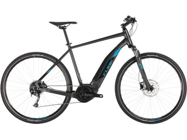 Cube Cross Hybrid ONE 500 E-hybride fietsen grijs